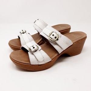 Dansko Jessie Wedge Platform Sandals